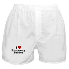 I Love Runaway Brides Boxer Shorts