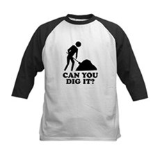 Can You Dig It Kids Baseball Jersey