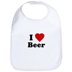 I Love [Heart] Beer Bib