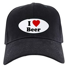 I Love [Heart] Beer Black Cap