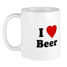 I Love [Heart] Beer Mug