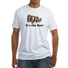 It's the Roc! Fitted T-Shirt