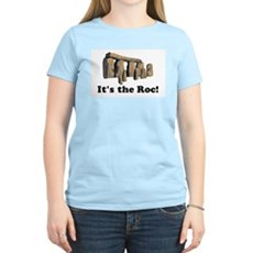It's the Roc! Womens Pink T-Shirt
