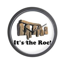It's the Roc! Wall Clock