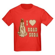 I Love Road Soda Kids T-Shirt