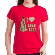 I Love Road Soda Womens T-Shirt