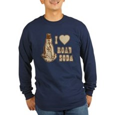 I Love Road Soda Long Sleeve T-Shirt