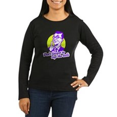 Don't forget to cup the balls Womens Long Sleeve