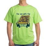 Fattest Lifelist Wins Green T-Shirt