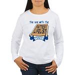 Fattest Lifelist Wins Women's Long Sleeve T-Shirt