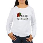 Be Vewy Quiet I'm Bird Women's Long Sleeve T-Shirt