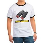 Natural Born Birder Ringer T-Shirt