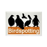Birdspotting Rectangle Magnet