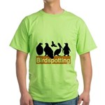 Birdspotting Green T-Shirt