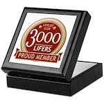 Lifelist Club - 3000 Keepsake Box