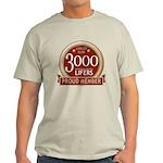Lifelist Club - 3000 Light T-Shirt