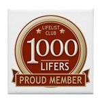 Lifelist Club - 1000 Tile Coaster