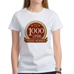 Lifelist Club - 1000 Women's T-Shirt