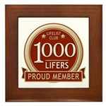 Lifelist Club - 1000 Framed Tile