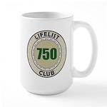 Lifelist Club - 750 Large Mug