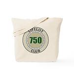 Lifelist Club - 750 Tote Bag