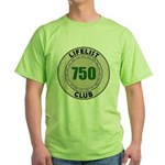 Lifelist Club - 750 Green T-Shirt