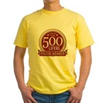 Lifelist Club - 500 Yellow T-Shirt