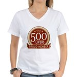 Lifelist Club - 500 Women's V-Neck T-Shirt