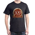 Lifelist Club - 500 Dark T-Shirt
