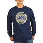 Lifelist Club - 400 Long Sleeve Dark T-Shirt