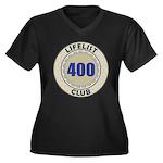 Lifelist Club - 400 Women's Plus Size V-Neck Tee