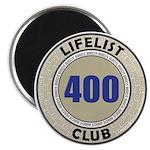 Lifelist Club - 400 Magnet