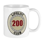Lifelist Club - 200 Mug