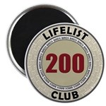 Lifelist Club - 200 Magnet