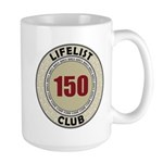 Lifelist Club - 150 Large Mug
