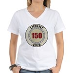 Lifelist Club - 150 Women's V-Neck T-Shirt