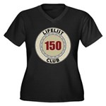 Lifelist Club - 150 Women's Plus Size V-Neck Tee