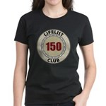 Lifelist Club - 150 Women's Dark T-Shirt