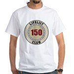 Lifelist Club - 150 White T-Shirt