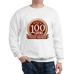 Lifelist Club - 100 Sweatshirt
