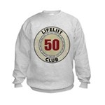 Lifelist Club - 50 Kids Sweatshirt