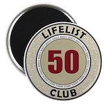Lifelist Club - 50 Magnet