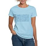 Birding Tag Cloud Women's Light T-Shirt