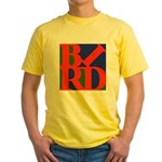 Pop Art Bird Yellow T-Shirt
