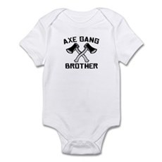 Axe Gang Brother Infant Creeper
