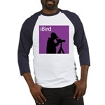 iBird (purple) Baseball Jersey