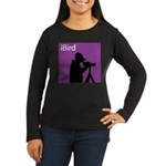iBird (purple) Women's Long Sleeve Dark T-Shirt