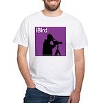 iBird (purple) White T-Shirt