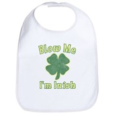 Blow Me I'm Irish Bib
