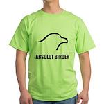 Absolut Birder Green T-Shirt